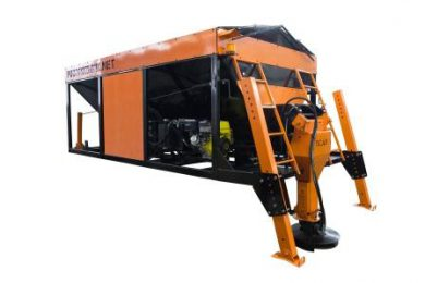 SALT SPREADING MACHINE