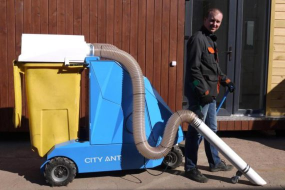 Street vacuum cleaner IceClean 3photo