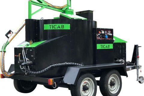 Crack sealing machine TICAB photo1
