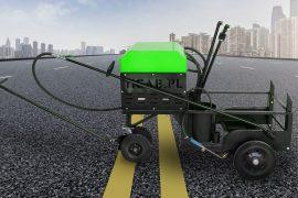 MODÈLE BS-200 (mini distributeur d'asphalte)