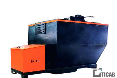 Бункер для асфальта HB-2 TICAB картинка4