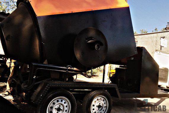 Рециклер асфальтобетона РА-800 TICAB картинка3