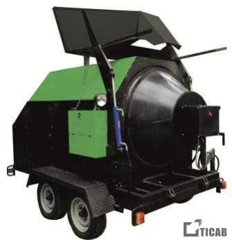 Рециклер асфальта РА-800 TICAB картинка1