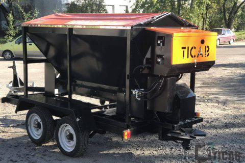 пескоразбрасыватель РПС-1500 TICAB картинка3