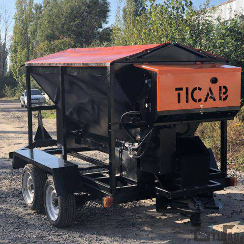 пескоразбрасыватель РПС-1500 TICAB картинка5