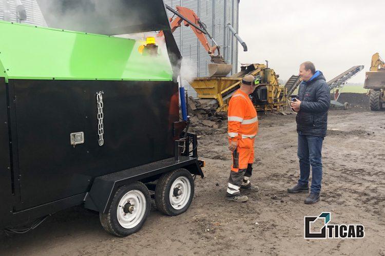 Дорожная техника TM TICAB обслуживает дороги Дании