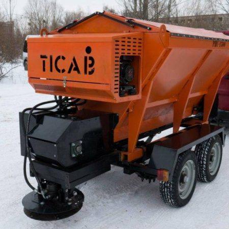 пескоразбрасыватель РПС-1500 TICAB картинка1